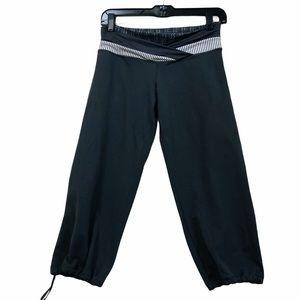 Lululemon dharana crop leggings grey
